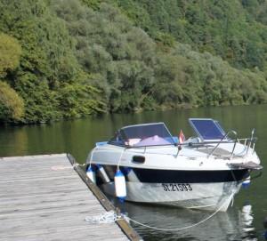 Boot für Praxisfahrt Patente